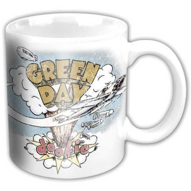 Green Day- Dookie coffee mug