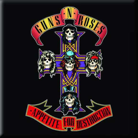 Guns N Roses- Appetite For Destruction magnet