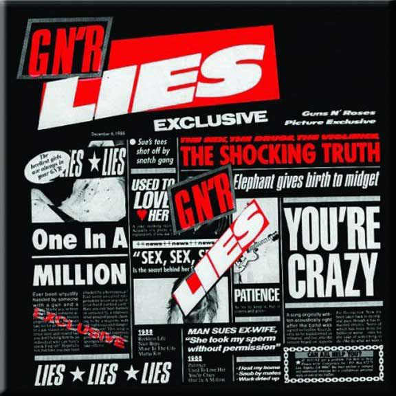 Guns N Roses- Lies magnet
