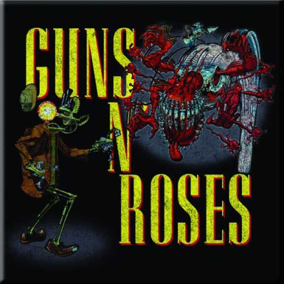 Guns N Roses- Attack magnet