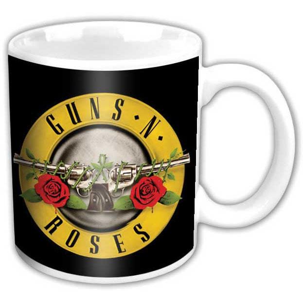 Guns N Roses- Bullet coffee mug