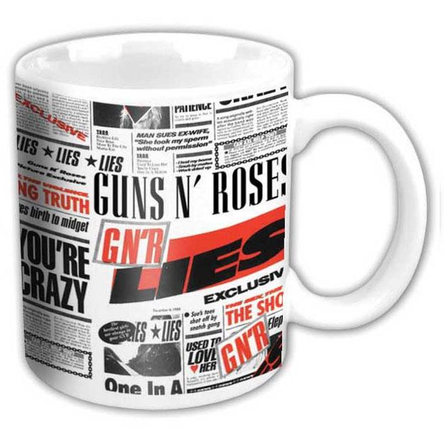 Guns N Roses- Lies coffee mug