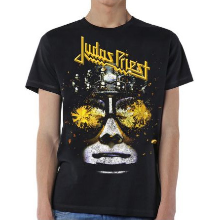 Judas Priest- Hellbent on a black shirt (Sale price!)