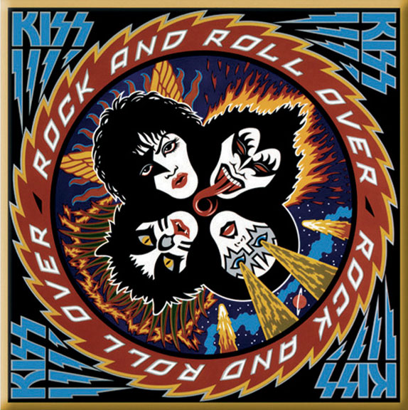 Kiss- Rock N Roll Over magnet
