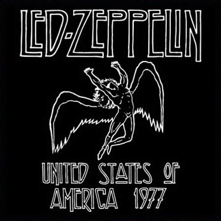 Led Zeppelin- USA 1977 magnet