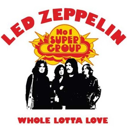 Led Zeppelin- Whole Lotta Love magnet