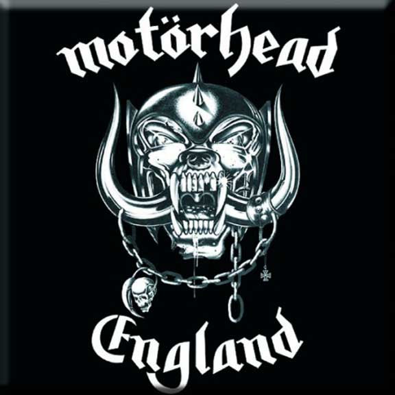 Motorhead- England magnet