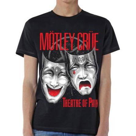 Motley Crue- Theatre Of Pain #2 on a black shirt