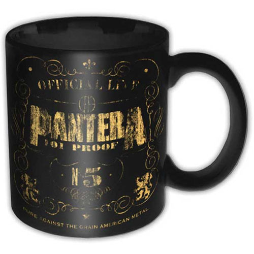 Pantera- 101 Proof coffee mug