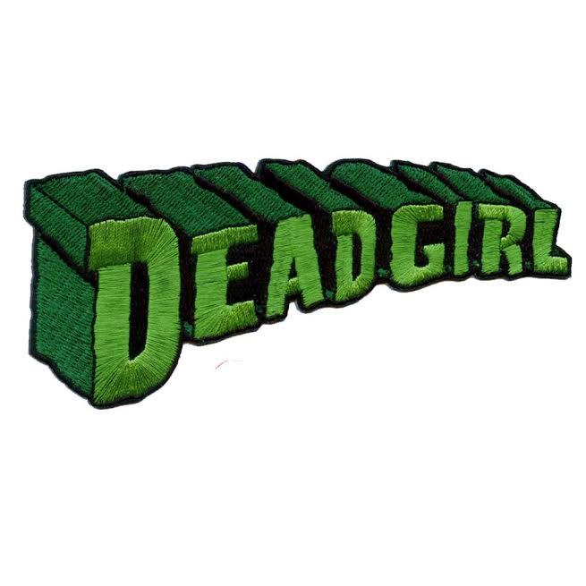 Super Dead Girl Embroidered Patch by Kreepsville 666 (ep602)