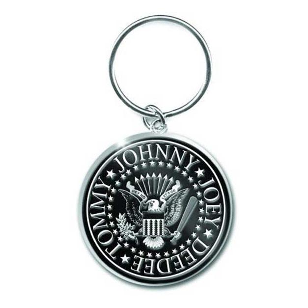 Ramones- Presidential Seal Metal Keychain