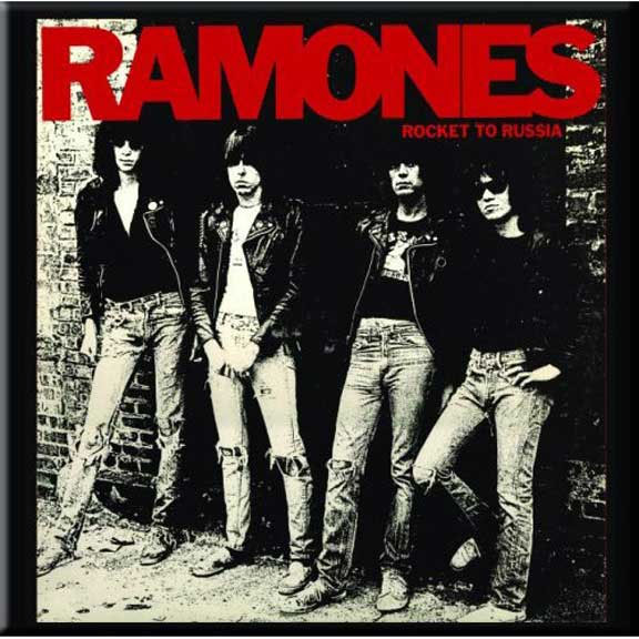 Ramones- Rocket To Russia magnet