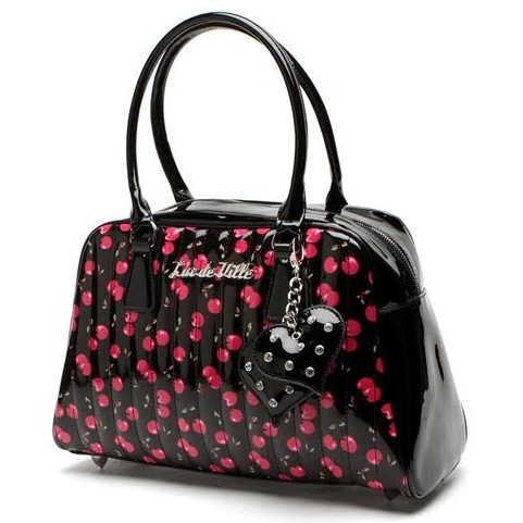 Very Cherry Car Tote by Lux De Ville