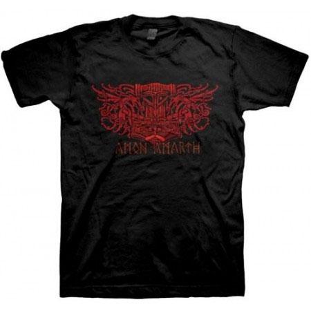 Amon Amarth- Blood Eagle on a black shirt