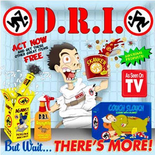 """DRI- But Wait...There's More! 7"""" (Color Vinyl)"""