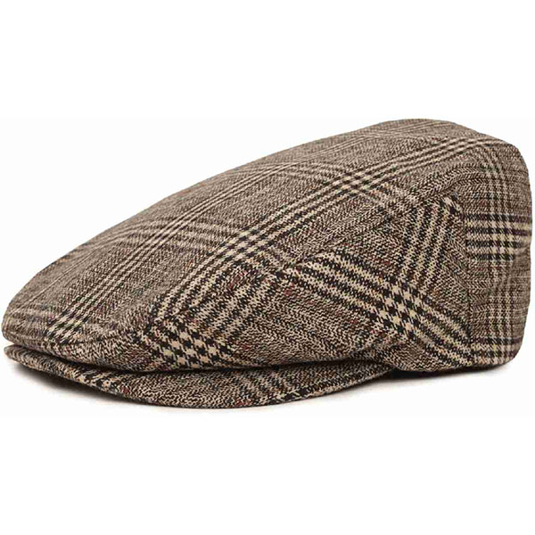 Barrel Driver Hat by Brixton- BROWN / CREAM (Sale price!)
