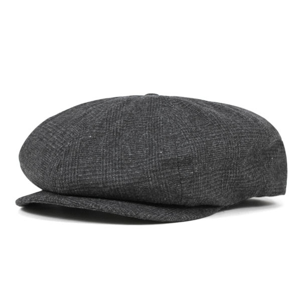 Brood Hat by Brixton- GREY PLAID (Sale price!)
