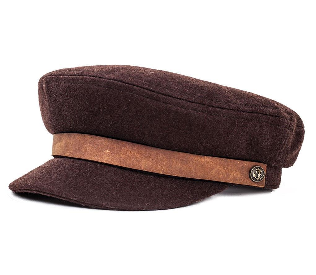 Fiddler Hat by Brixton- DARK BROWN