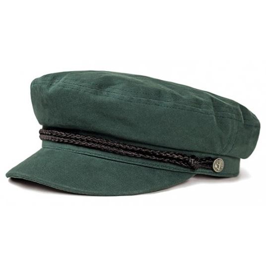 Fiddler Hat by Brixton- HUNTER GREEN (Sale price!)