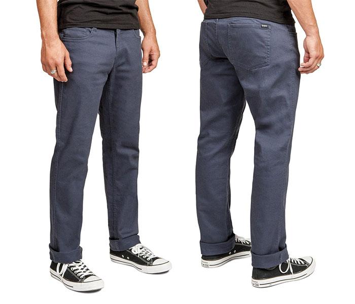 Grain Slim Fit 5 Pocket Jean by Brixton- INDIGO