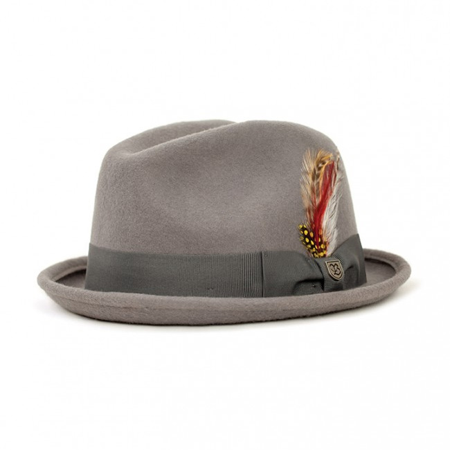 Gain Hat by Brixton- Heather Grey (Sale price!)