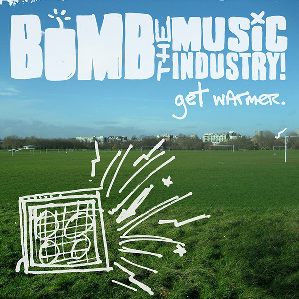 Bomb The Music Industry!- Get Warmer LP (Translucent Green Marble Vinyl)