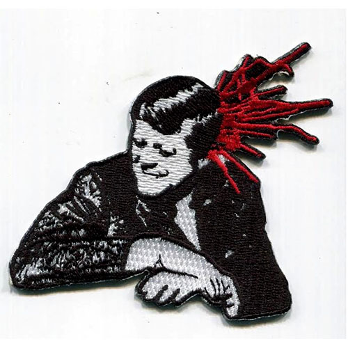 Bullet (Misfits) die cut embroidered patch