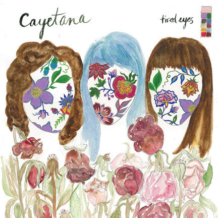 "Cayetana- Tired Eyes 7"" (Sale price!)"