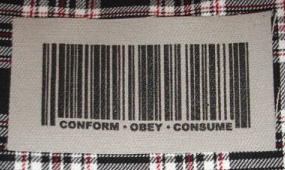 Conform Obey Consume cloth patch (cp863)