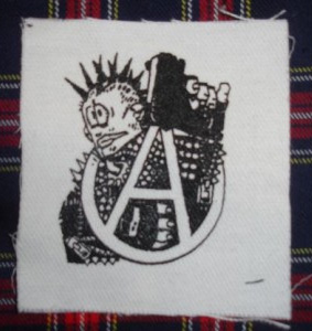 Cartoon Punk cloth patch (cp885)