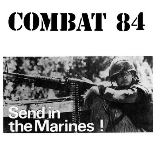 Combat 84- Send In The Marines LP (UK Import! Red Vinyl)