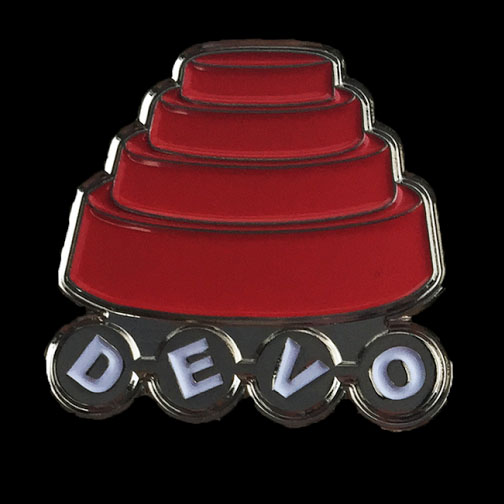 Official Devo Engery Dome Enamel Pin from Western Evil (MP39)
