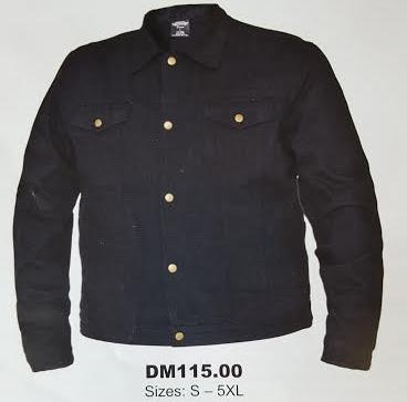 Denim Jacket by Unik- BLACK