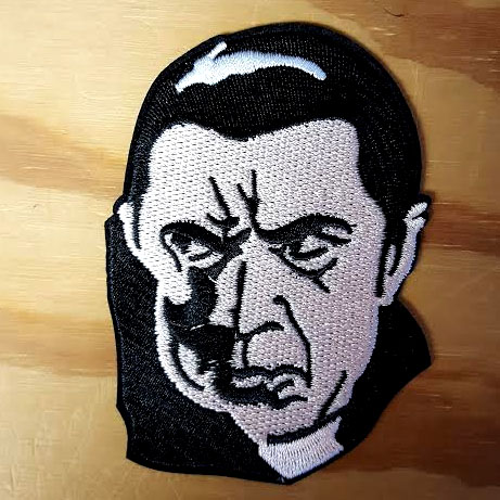 Dracula embroidered patch (ep613)
