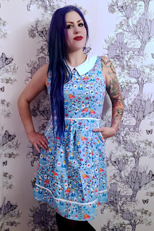 Alice Dress by Folter / Retrolicious Clothing - SALE sz S & L only