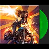 "Dusty Booze & The Baby Haters / Bigfoot- Frankenstein Created Bikers 7"" (Absinthe Green Vinyl) (Sale price!)"