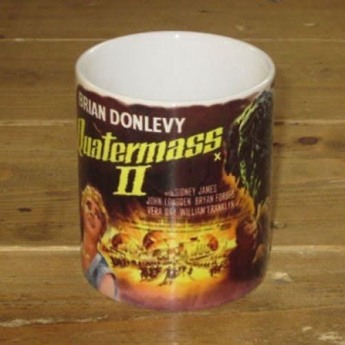 Hammer Films- Quartermass Xperiment II coffee mug by Darkside - SALE