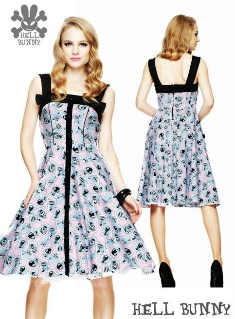 Joy Joy Swing 50's Dress by Hell Bunny - SALE