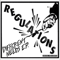 "Regulations- Different Needs 7"" (Sale price!)"