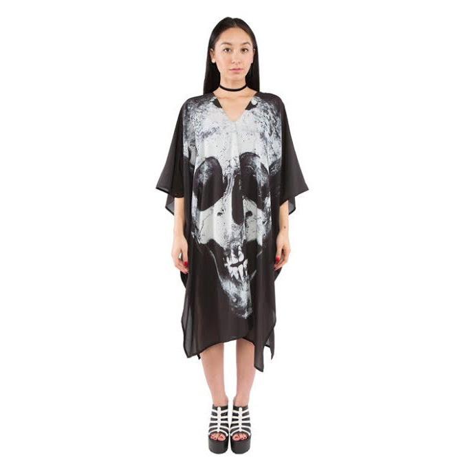 Loose Tooth Poncho by Iron Fist - SALE sz M only
