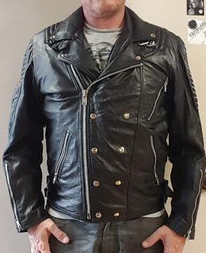 Lamb Skin Leather Moto Jacket (Sale price!)
