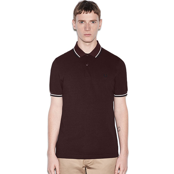 fred perry polo shirt mahogany black oxford sale sz xl only. Black Bedroom Furniture Sets. Home Design Ideas