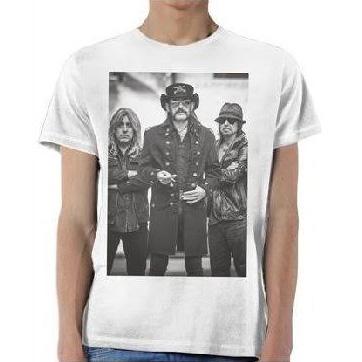 Motorhead- Band Pic on a white shirt (Ltd Ed Print) (Sale price!)