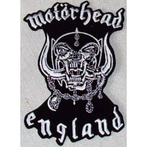 Motorhead- England embroidered patch (ep609)