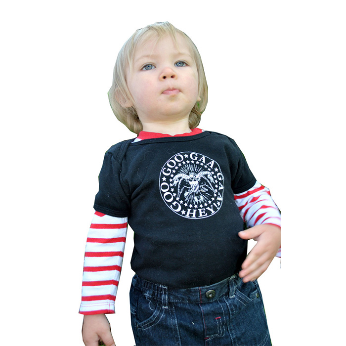 Goo Goo Gaa Gaa Hey baby onesy by Lucky Mule (Sale price!)