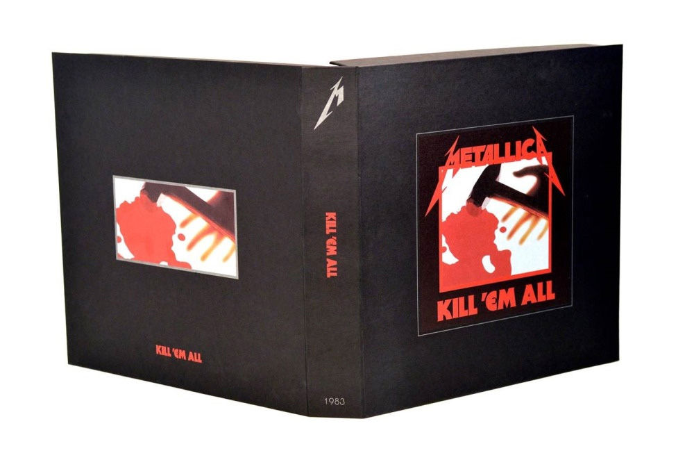 Metallica- Kill 'Em All Deluxe Box Set (4LP / 5CD / 1 DVD w/ book, mini book and poster set)
