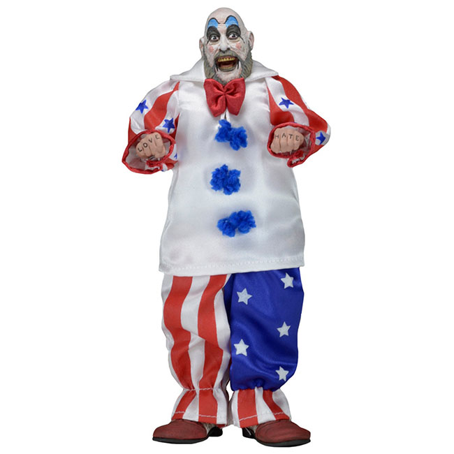 "House Of 1000 Corpses- Captain Spaulding 8"" Clothed Figure"