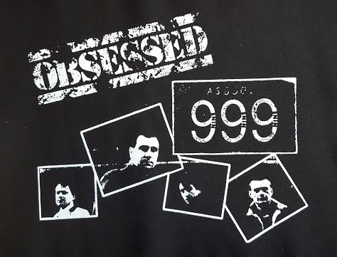 999- Obsessed back patch (bp16) (Sale price!)