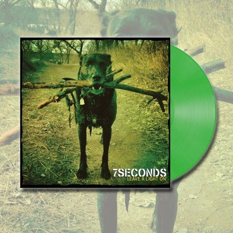7 Seconds- Leave A Light On LP & CD (Ltd Ed Green Vinyl)