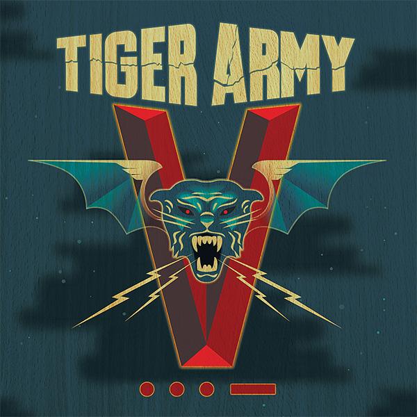 Tiger Army- V LP (Ltd Ed 180gram Vinyl)
